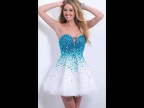 صورة فساتين قصيرة تركية , بالصور اجمل الفساتين التركيه القصيره 110 7