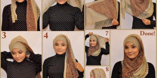صور طرق لف الحجاب , الطرق المختلفه للف الحجاب