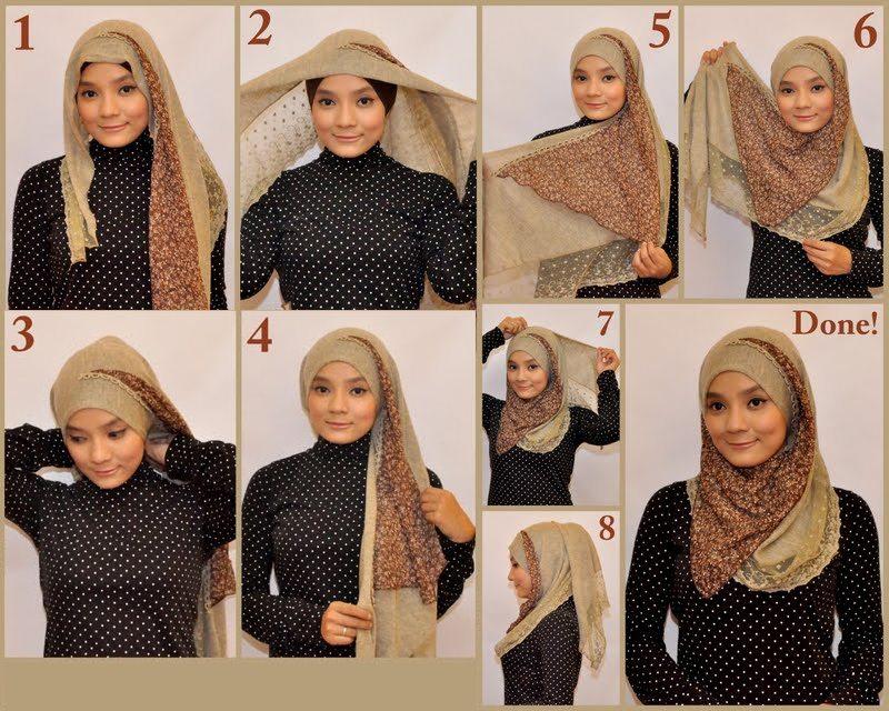 بالصور طرق لف الحجاب , الطرق المختلفه للف الحجاب 116