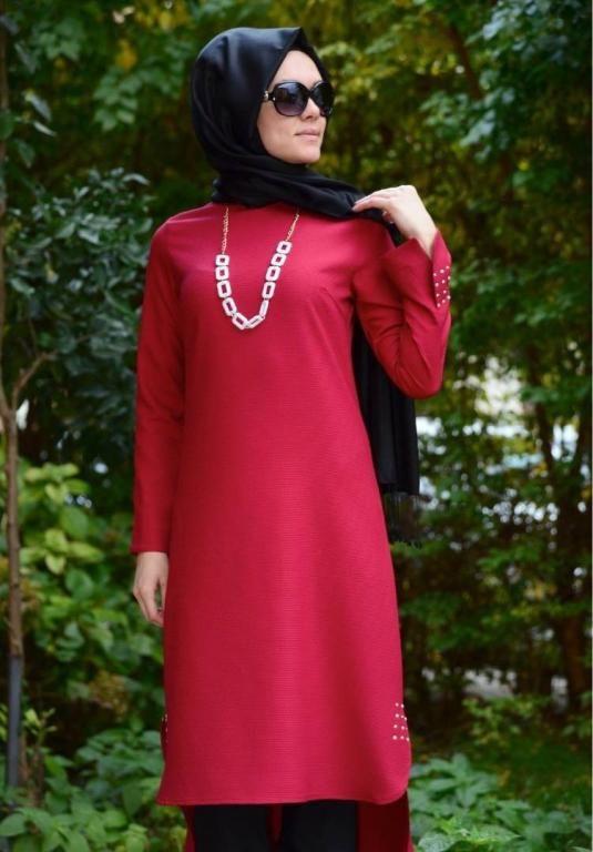 بالصور ملابس تركية للمحجبات , بالصور احلى ملابس تركيه للمحجبات 206 11