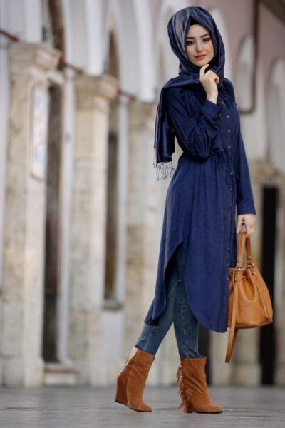 بالصور ملابس تركية للمحجبات , بالصور احلى ملابس تركيه للمحجبات
