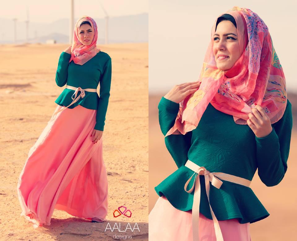 بالصور لبس بنات محجبات , بالصور اشيك ازياء ولبس محجبات 245 2