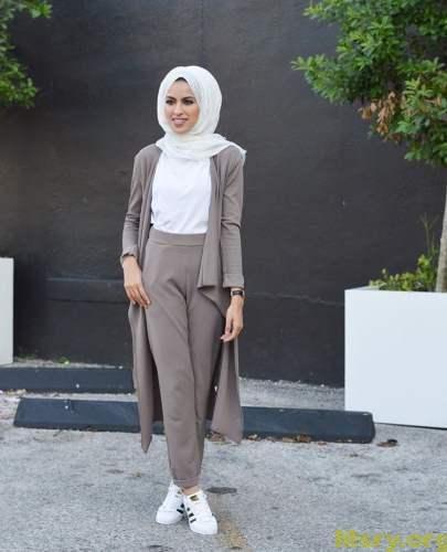 بالصور لبس بنات محجبات , بالصور اشيك ازياء ولبس محجبات 245 3