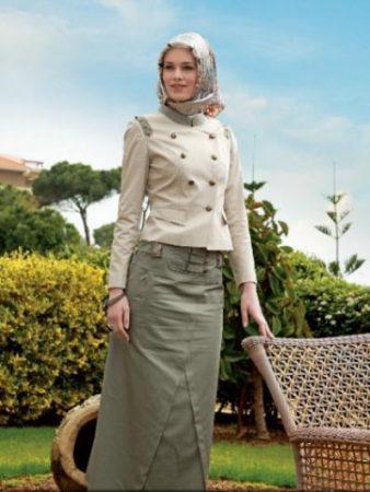 بالصور لبس بنات محجبات , بالصور اشيك ازياء ولبس محجبات 245 7