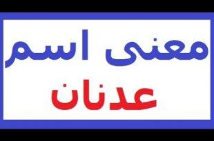 صور معنى اسم عدنان , تفسير اسم عدنان