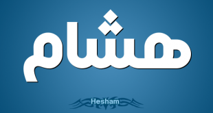 صوره معنى اسم هشام , تفسير اسم هشام