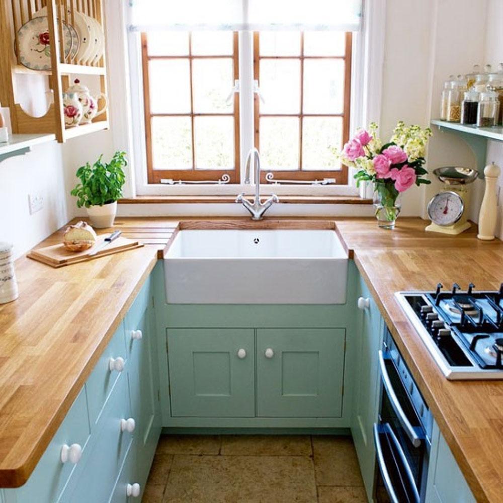 صوره تصاميم مطابخ صغيرة وبسيطة , مطابخ عصرية صغيرة وانيقة