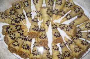 صورة حلويات جزائرية بسيطة بالصور , شاهد بالصور اروع الحلويات الجزائرية