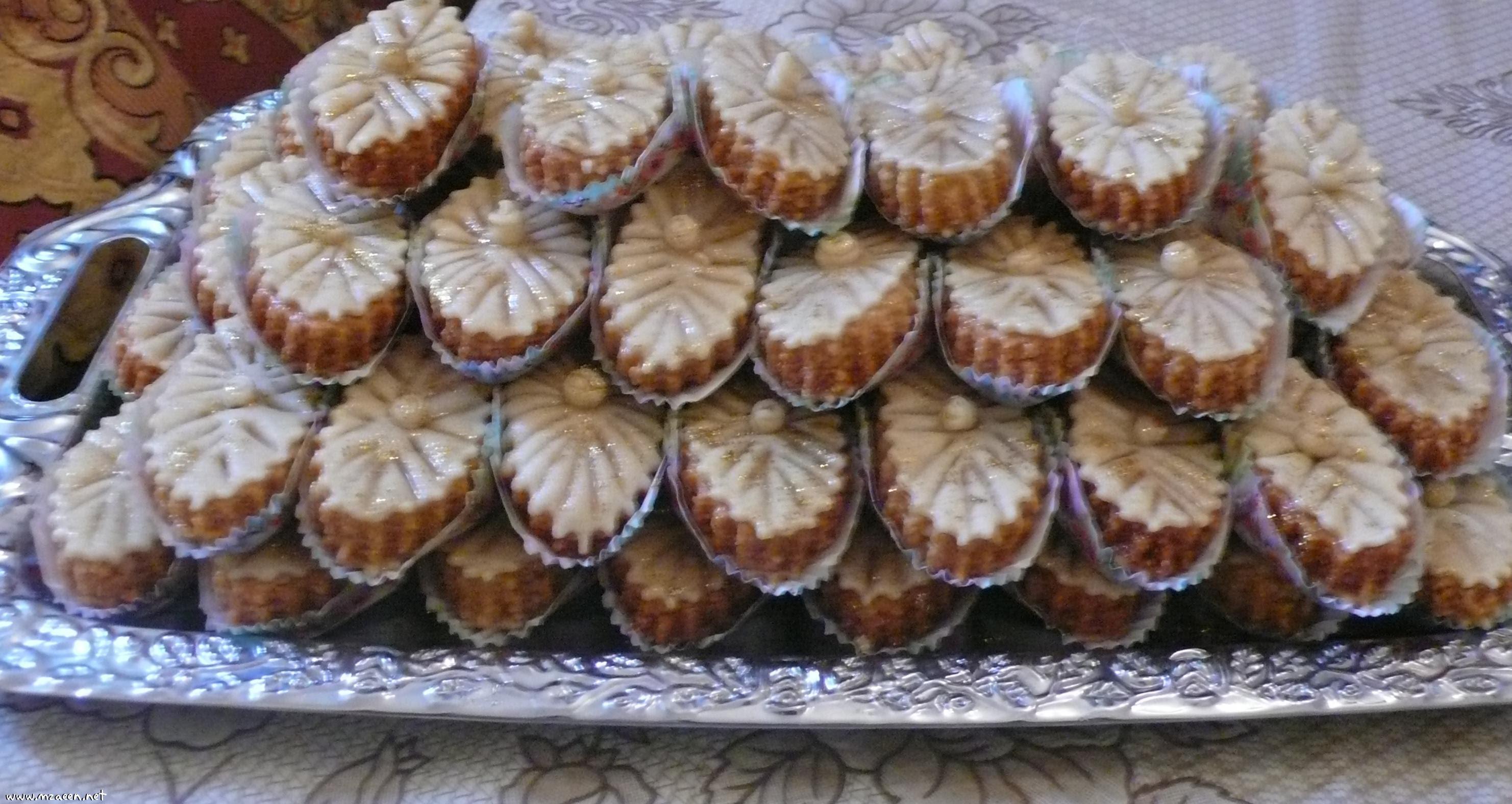 بالصور حلويات جزائرية بسيطة بالصور , شاهد بالصور اروع الحلويات الجزائرية 2041 5