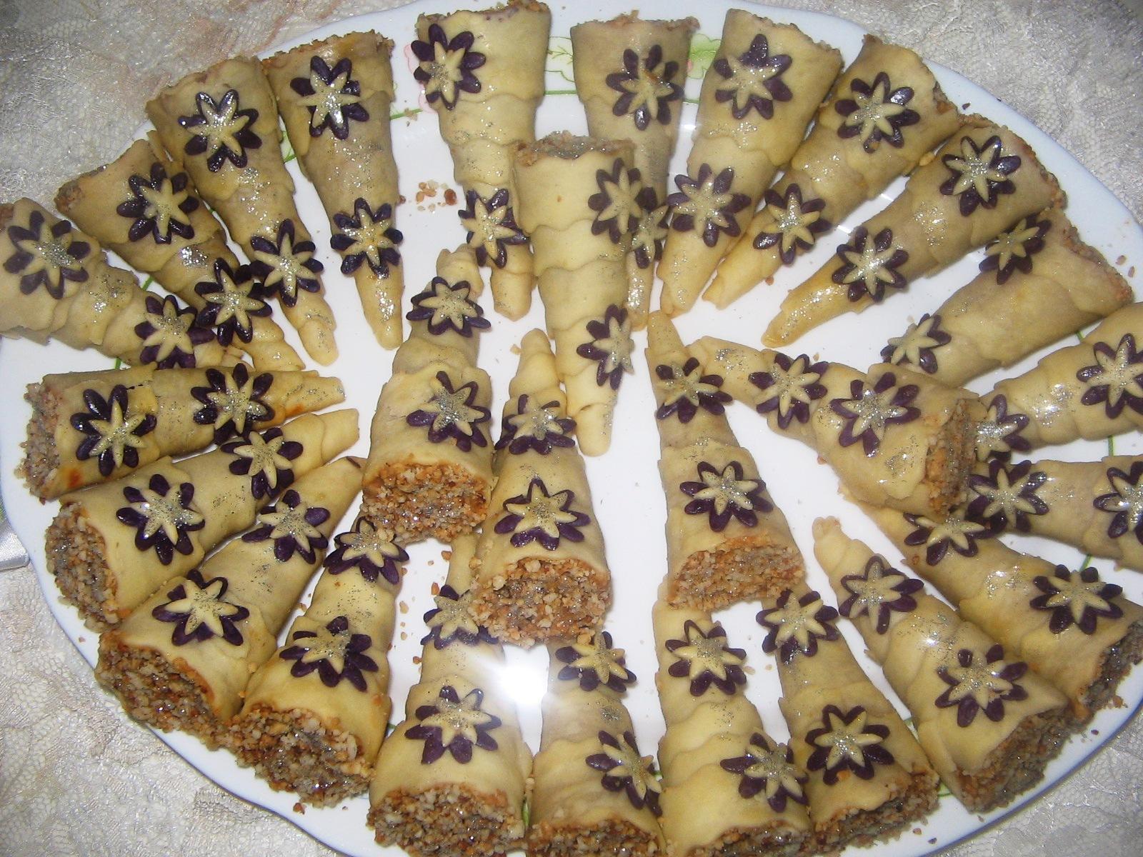 صور حلويات جزائرية بسيطة بالصور , شاهد بالصور اروع الحلويات الجزائرية
