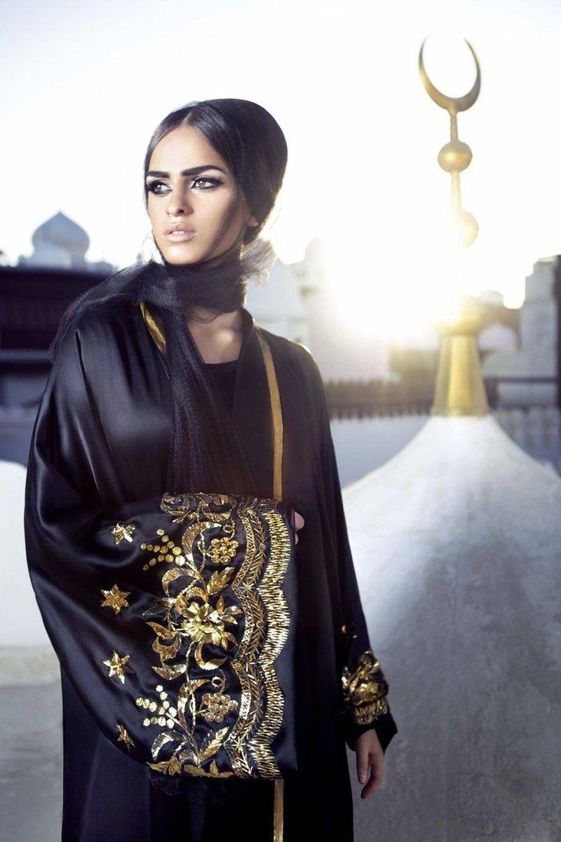 صوره عبايات كويتية , شاهد بالصور افخم تصاميم العبايات الكويتية