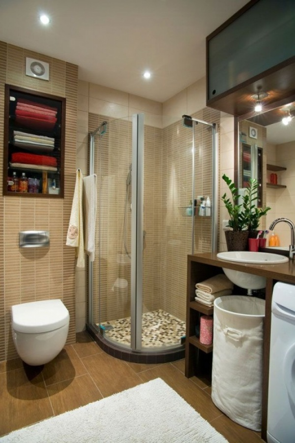 بالصور ديكور حمامات صغيرة , تعرف على احدث ديكور للحمامات الصغيرة 2060 11