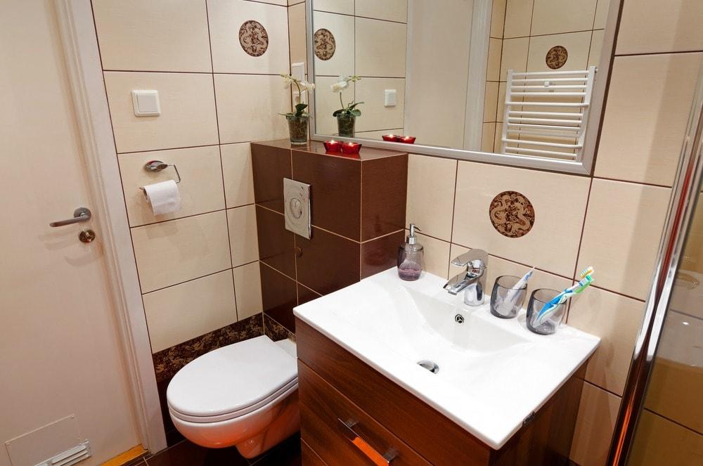 بالصور ديكور حمامات صغيرة , تعرف على احدث ديكور للحمامات الصغيرة 2060 13