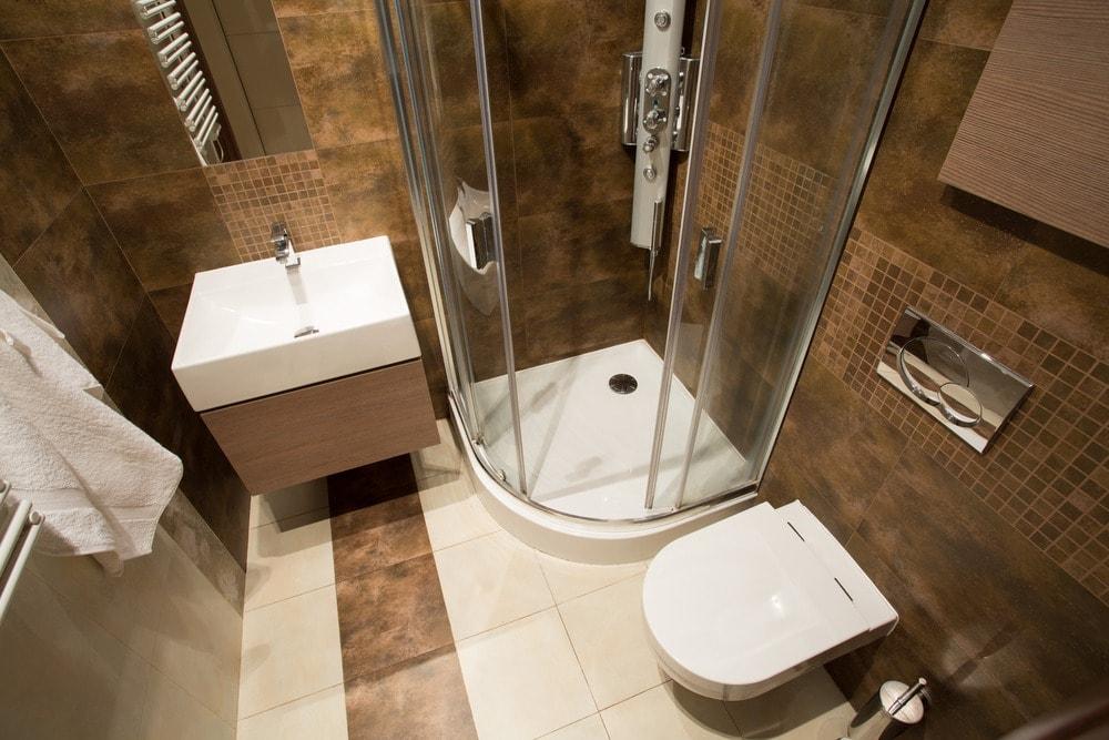 بالصور ديكور حمامات صغيرة , تعرف على احدث ديكور للحمامات الصغيرة 2060 5