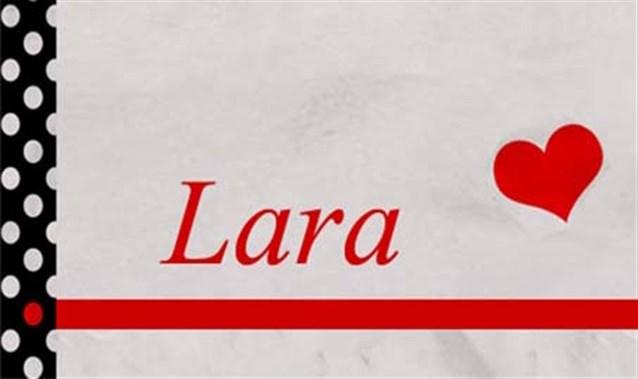 بالصور معنى اسم لارا , شاهد احدث التصاميم لاسم لارا 2066 1
