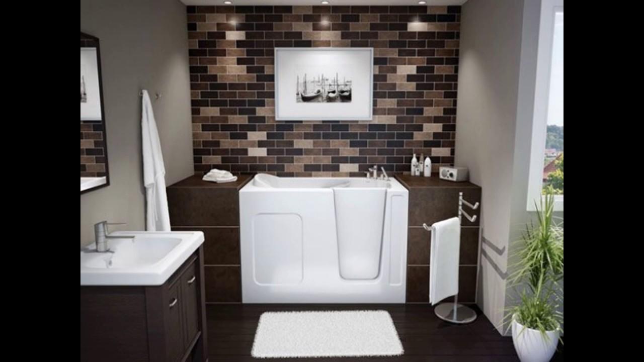 بالصور ديكورات حمامات بسيطة , بالصور احدث ديكورات حمامات جديده 35 3
