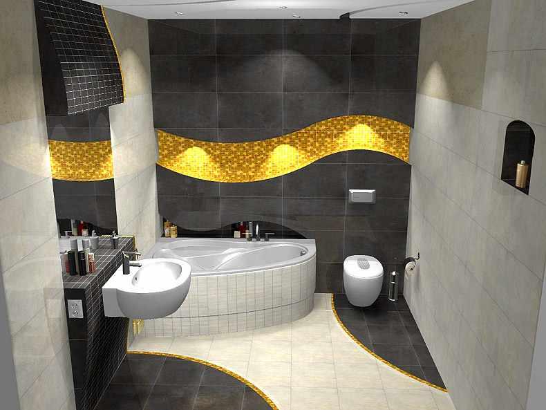 بالصور ديكورات حمامات بسيطة , بالصور احدث ديكورات حمامات جديده 35 5