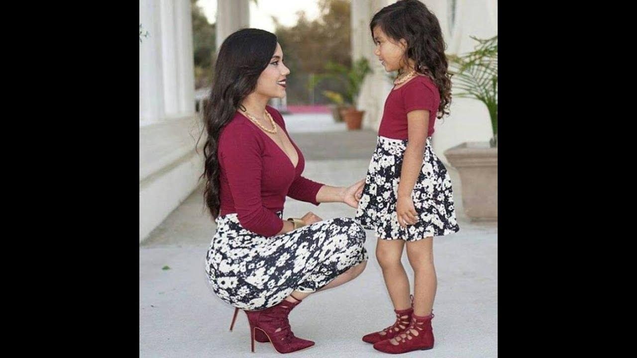 بالصور صور بنت وامها , شاهد اجمل الصور التى تجمع بين الام وصغيرتها 472 2