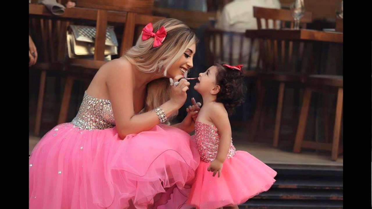 صوره صور بنت وامها , شاهد اجمل الصور التى تجمع بين الام وصغيرتها