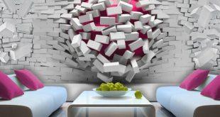 اشكال ورق جدران , بالصور اجمل اشكال ورق جدران رائع
