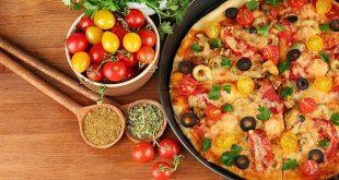 صوره كيفية تحضير البيتزا , اسهل طريقه لعمل البيتزا الشهيه