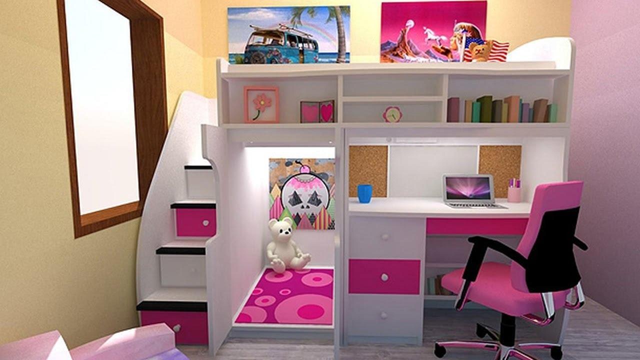 بالصور غرف اطفال بنات , اثاث رائع للاطفال البنات 1655 2