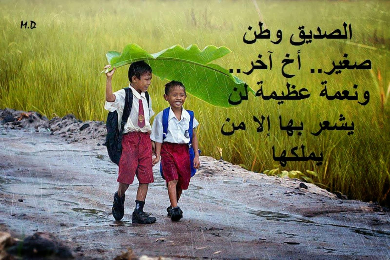 بالصور كلمات جميلة عن الصداقة , عبارات رائعه في حب الاصدقاء 1687 10