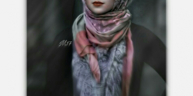 صورة رمزيات محجبات , اجمل رمزيات لفتايات محجبات