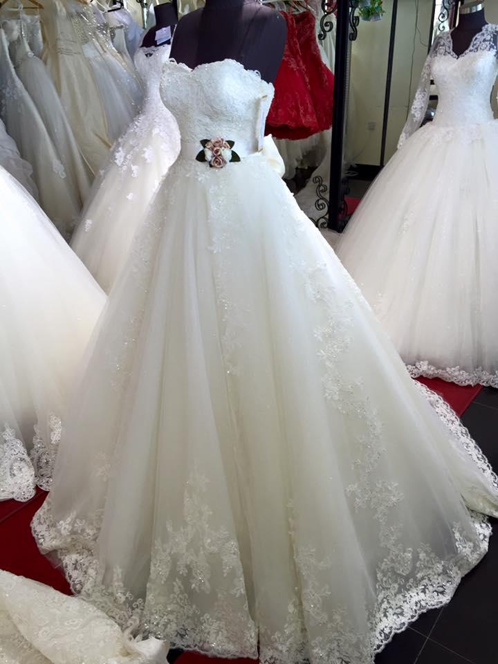 بالصور صور فساتين عرايس , احدث ازياء فساتين الزفاف 2019 1759 2