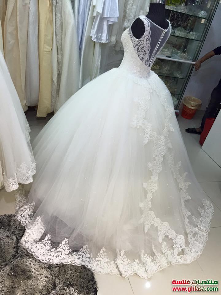 274b29002d5f4 احدث ازياء فساتين الزفاف 2019. صورة فستان عرس