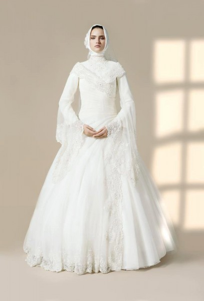 بالصور صور فساتين عرايس , احدث ازياء فساتين الزفاف 2019 1759 6