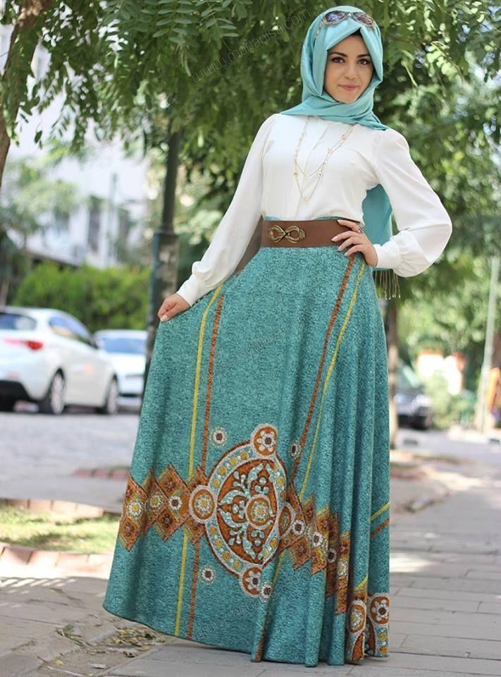 بالصور موضة المحجبات , استيلات مستحدثة فى عالم الحجاب 1798 12