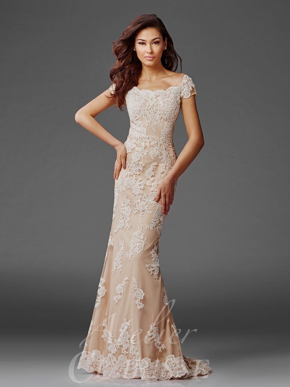 بالصور موديلات فساتين سهرة , انتى الاجمل عندما ترتدى هذا الفستان 1807 1