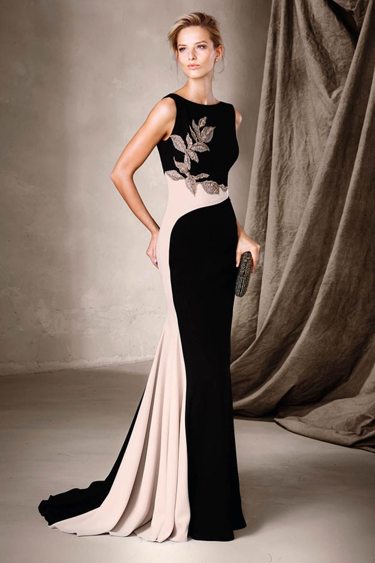 بالصور موديلات فساتين سهرة , انتى الاجمل عندما ترتدى هذا الفستان 1807 10