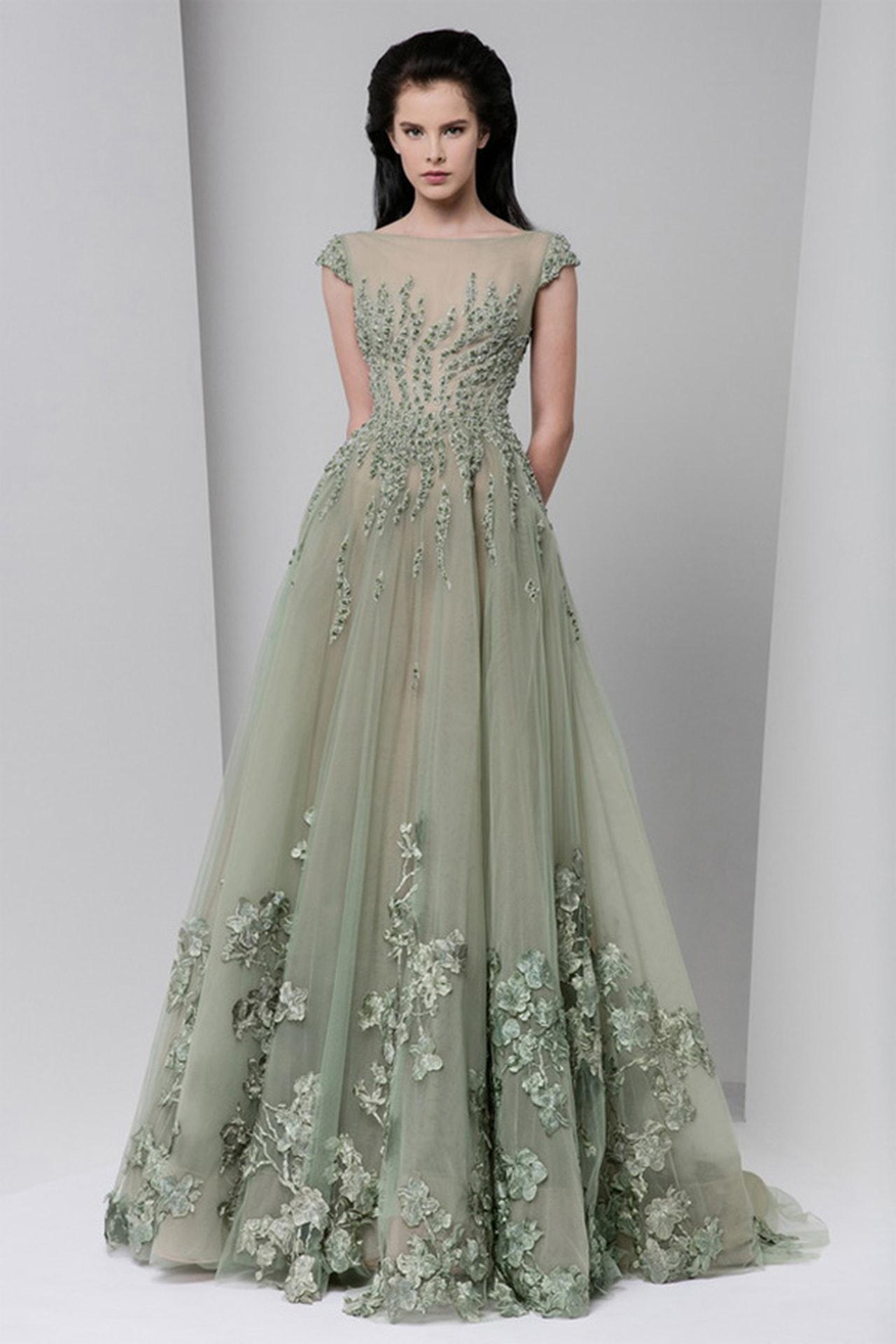 بالصور موديلات فساتين سهرة , انتى الاجمل عندما ترتدى هذا الفستان 1807 12