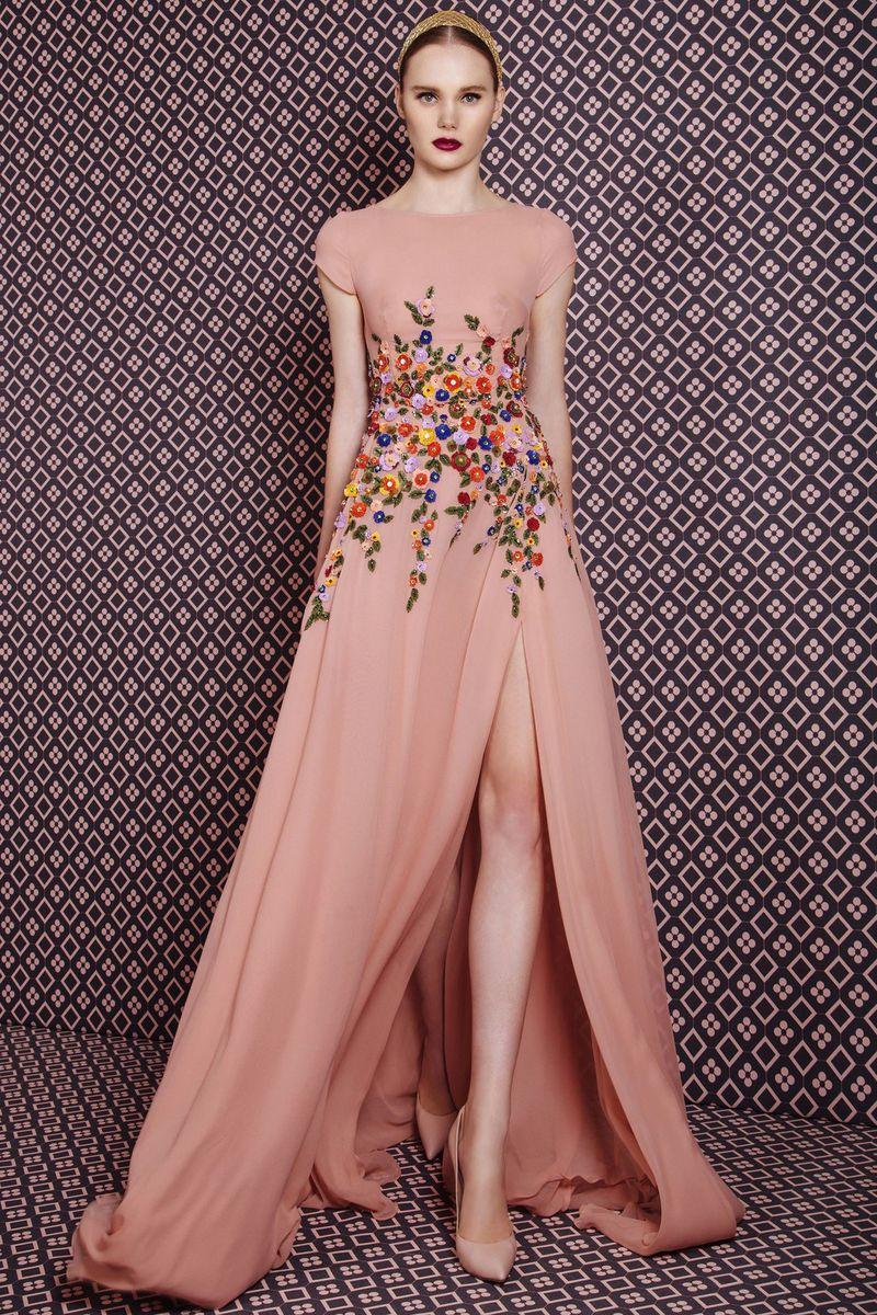 بالصور موديلات فساتين سهرة , انتى الاجمل عندما ترتدى هذا الفستان 1807 9