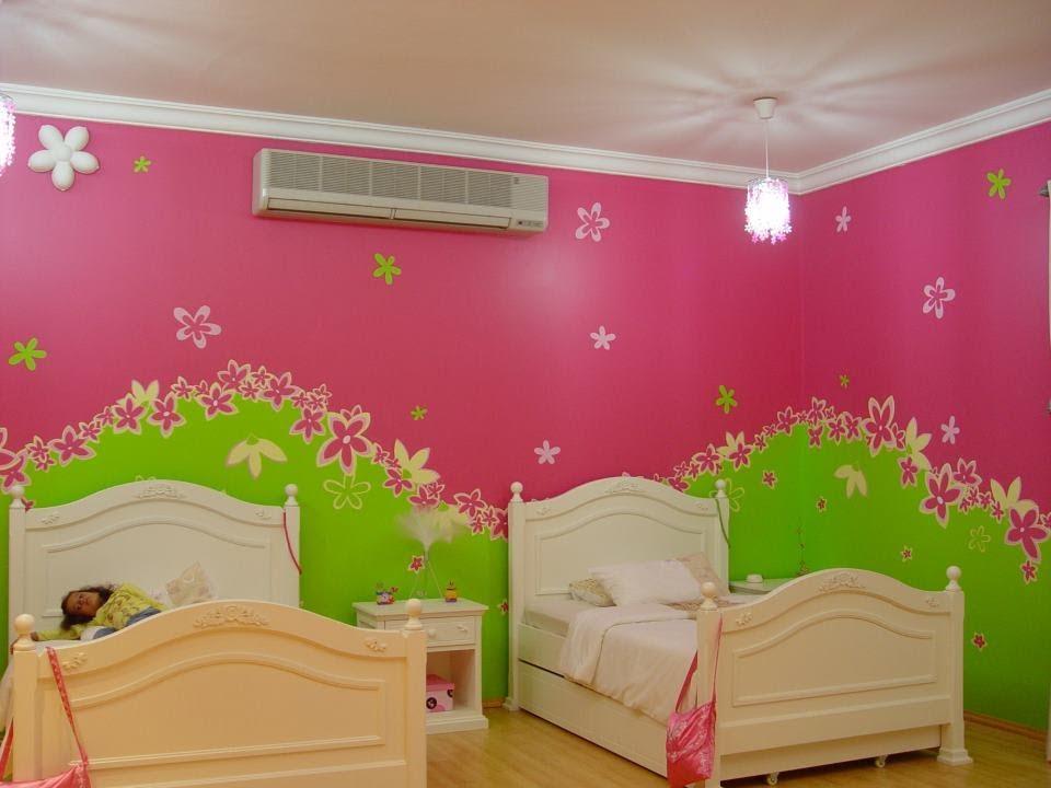 بالصور دهانات غرف اطفال , شاهد اجمل الدهانات المميزة لغرف الاطفال 1906 3