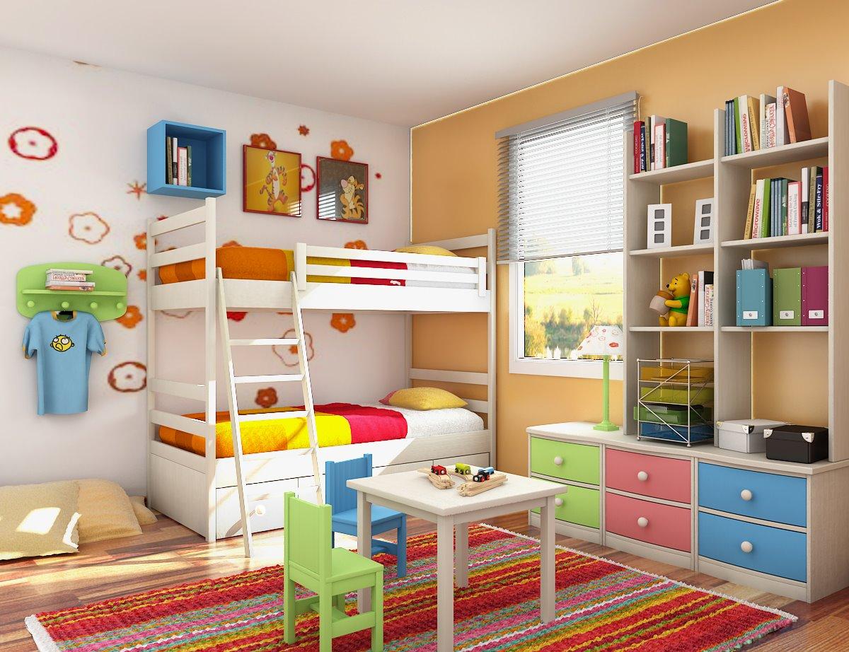 بالصور دهانات غرف اطفال , شاهد اجمل الدهانات المميزة لغرف الاطفال 1906 4