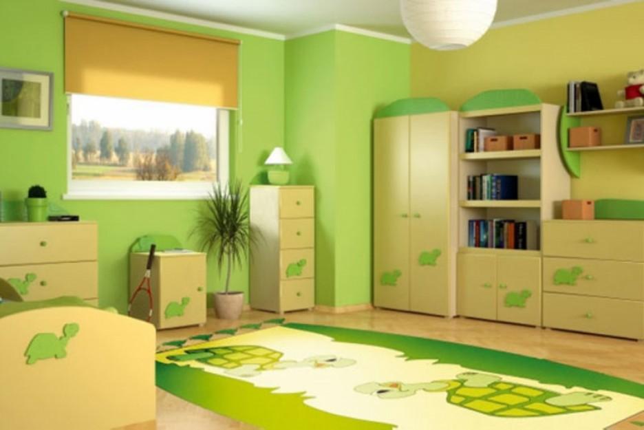 بالصور دهانات غرف اطفال , شاهد اجمل الدهانات المميزة لغرف الاطفال 1906 8