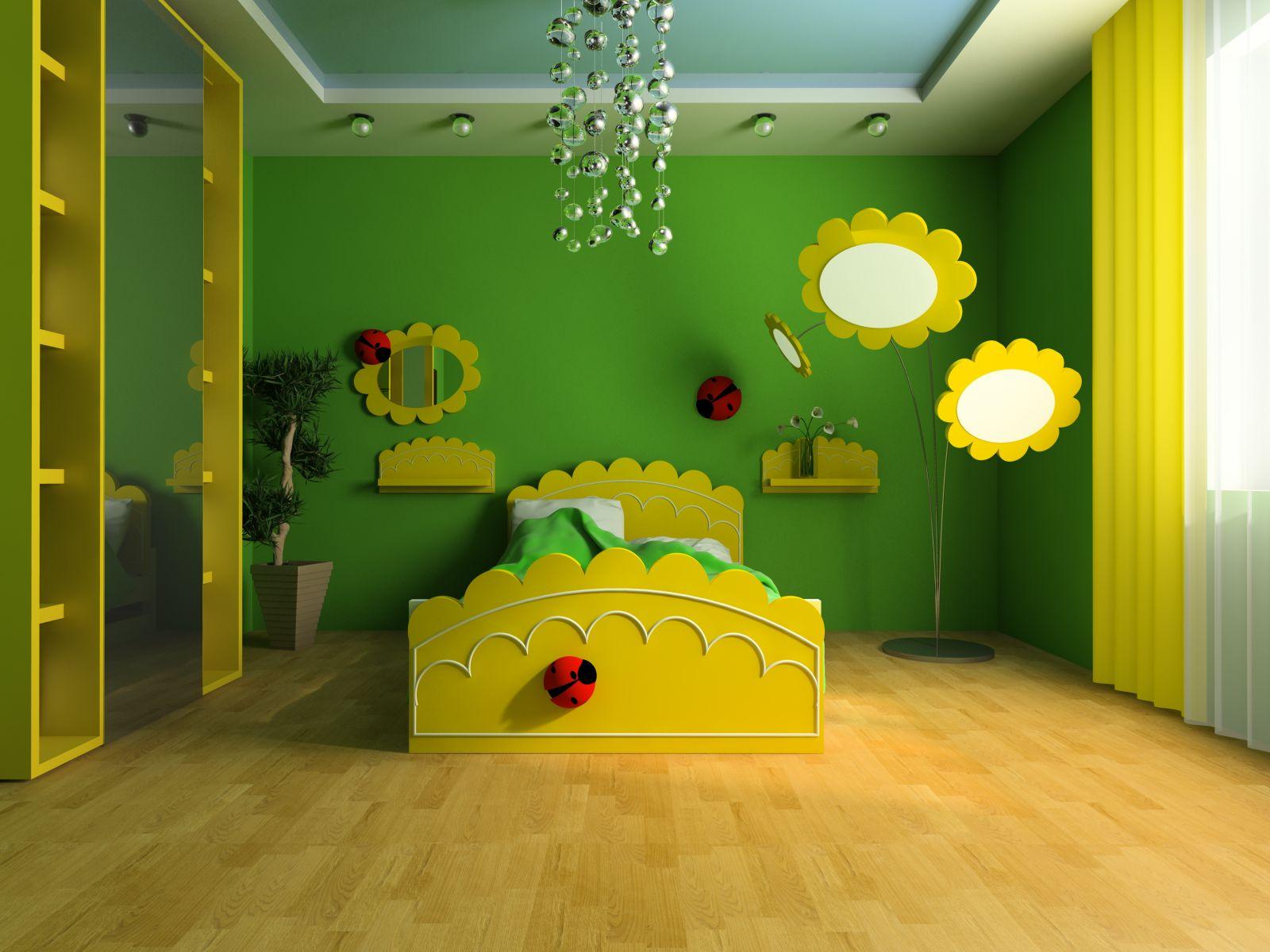 بالصور دهانات غرف اطفال , شاهد اجمل الدهانات المميزة لغرف الاطفال 1906 9