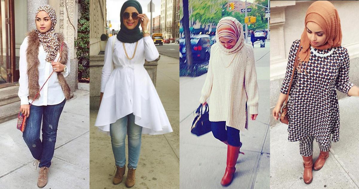 صورة اخر صيحات الموضة للمحجبات , احدث صيحات ملابس للمحجبات