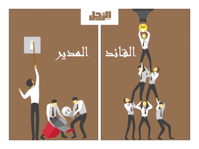 صور الفرق بين القائد والمدير , تعرف على الفرق بين القائد والمدير