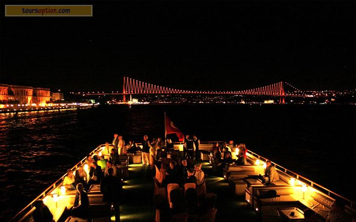 صورة عشاء فخم , من تركيا اطلاله رائعه لعشاء فخم