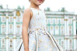 صورة فساتين اسبانية للاطفال , موضه فساتين الاطفال لهذا العام