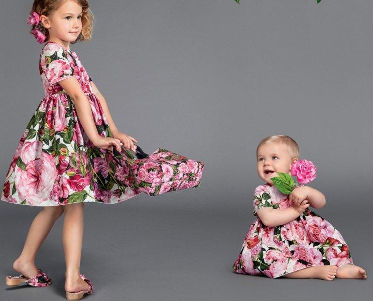 صورة فساتين اسبانية للاطفال , موضه فساتين الاطفال لهذا العام 10445 6