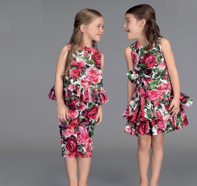 صورة فساتين اسبانية للاطفال , موضه فساتين الاطفال لهذا العام 10445 7