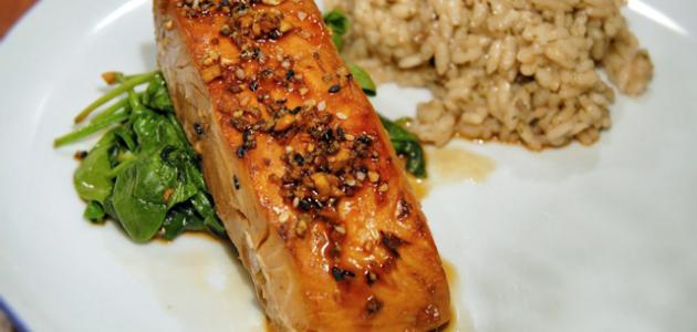 بالصور طريقة طبخ السلمون , طرق مختلفه لتعليم فنون الطبخ 10496 1