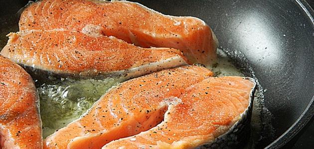 صور طريقة طبخ السلمون , طرق مختلفه لتعليم فنون الطبخ