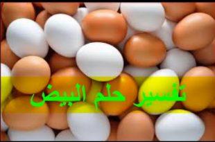 صور تفسير الحلم البيض , معرفة بالتفصيل رؤية البيض ف المنام