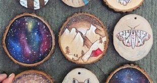 رسومات على الخشب , ابداع الرسم والنقش على الاخشاب